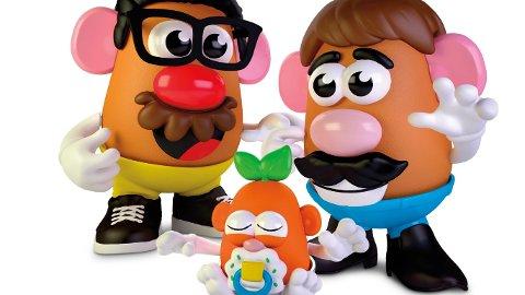 POTETFAMILIE: Slik kan den nye moderne «Potet Head Family» eller «Potethode familen» se ut.