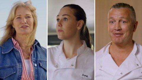 UTFORDRERE: Mandag ankommer Benedicte Adrian, Anna Rasmussen og Ole Klemetsen «Camp kulinaris».
