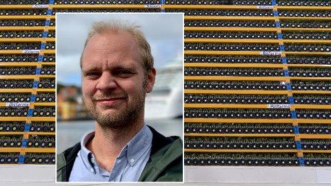 KRYPTO-NEI: Mímir Kristjánsson og Rødt vil etter all sannsynlighet stemme gjennom et forslag om et forbud mot kryptovaluta-mining i Norge på landsmøtet onsdag.