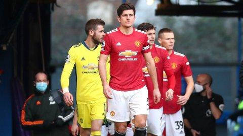 POENGDELING: Manchester United tok søndag med seg ett poeng hjem fra Stamford Bridge.