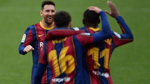 Lionel Messi er i kanonform om dagen, men Messi og Barcelona står foran en tøff oppgave i kveldens hjemmeretur i semifinalen i Copa del Rey mot Sevilla, all den tid Sevilla vant første oppgjør 2-0.