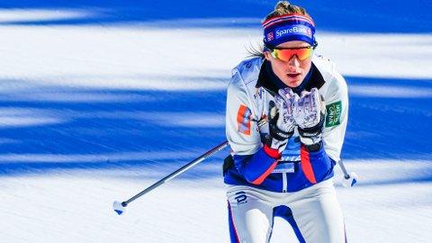 NORGES ESS: Therese Johaug på tredje etappe er Norges sterkeste kort på VM-stafetten. Spørsmålet er om det holder.