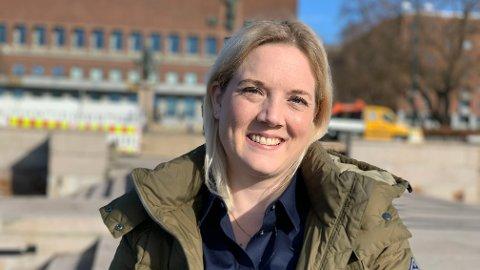 KAMPKLAR: Bystyrepolitiker Aina Stenersen i Oslo kjemper om stortingsplass, men får en ekstra utfordring når hun kan få konkurranse av selveste Carl I. Hagen. - Nå skal jeg kjempe, sier hun.