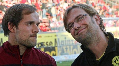 I 2010 var Tuchel manager for Mainz, den gamle klubben til Klopp. Klopp var manager for Dortmund, som Tuchel senere tok over. Dortmund vant for øvrig kampen 2-0.