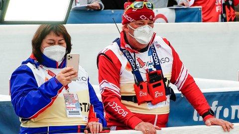 TAKHØYDE: Jelena Välbe har ikke vært nådig mot Markus Cramer i intervjuer med russisk media tidligere i mesterskapet.