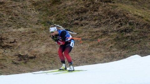 NY SEIER: Tiril Eckhoff sin fantastiske sesong fortsatte på sprinten i Nove Mesto, hvor hun tok en ny seier.