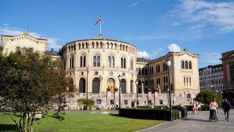 FORTSATT ÅPEN: Stortinget har holdt restauranten åpen etter at serveringssteder i Oslo ble besluttet stengt.
