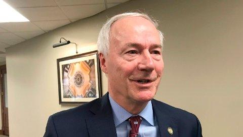 Arkansas' guvernør Asa Hutchinson annonserte at kvinner i delstaten ikke kan abortere, med svært få unntak.