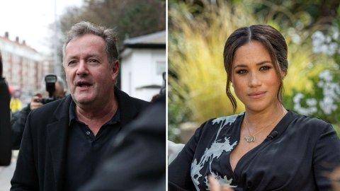 KLAGE: Hertuginne Meghan har sendt inn en klage på Piers Morgan.