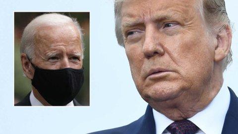 HARDT UT: Donald Trump er ikke nådig om Joe Biden.