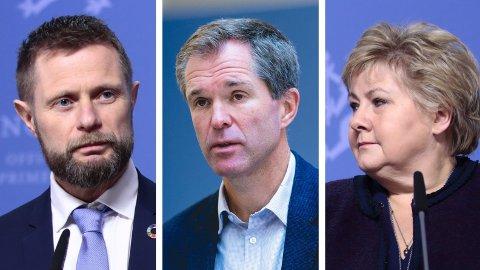 ETT ÅR MED PANDEMI: Et år etter at WHO erklærte pandemi og Norge stengte ned, understreker Norges globale helseambassadør John-Arne Røttingen (i midten) at vi ikke er ferdige.