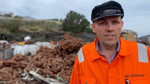 SJOKK: Jan Vindenes, bedre kjent som «Kjetting-Jan», mener Høyre beveger seg stadig mot venstresiden.