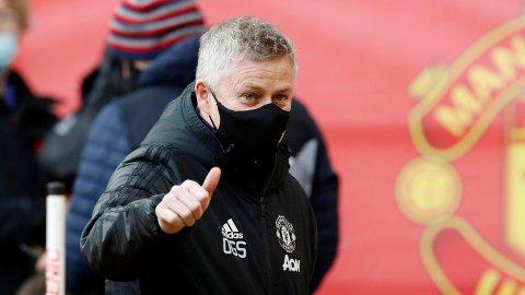 NY KONTRAKT? Det ryktes at Ole Gunnar Solskjær kan få fornyet kontrakten i Manchester United.