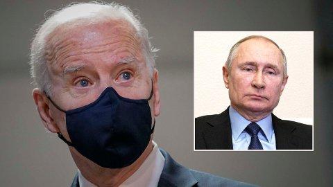 Den amerikanske presidenten kommer med svært sterke påstander overfor Vladimir Putin.