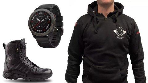 Deltakerne i Kompani Lauritzen bruker klær og utstyr levert av friluftsbutikken Milrab.