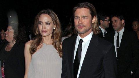 VOLDSANKLAGER: Angelina Jolie anklager eksmannen Brad Pitt for vold i hjemmet, igjen.