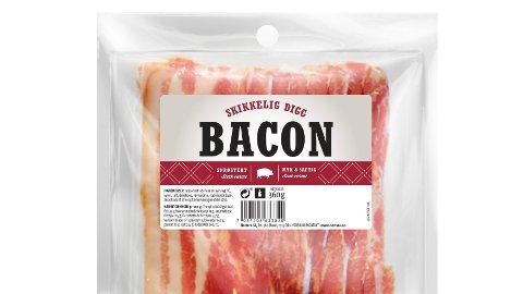 VARSKO: Nortura tilbakekaller enkelte partier av baconet med navn «Skikkelig digg bacon» etter funn av salmonella.