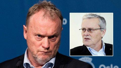 LANGER UT: Varehandelsekspert Odd Gisholt er ikke nådig i sin kritikk av Raymond Johansen og andre politikere i Norge.