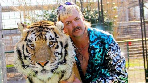 FERDIG: Joe Exotic, bedre kjent som «Tiger King», må se sin tidligere dyrehage bli stengt ned fra fengsel.