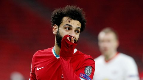 Mohamed Salah er skuffet over sesongen til Liverpool sett under ett.