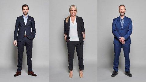TV-PROFILER: Ørjan Bjørnstad, Julie Strømsvåg og Kjetil André Aamodt er blant dem som bli å se i NENTs vindersportssendinger fremover.