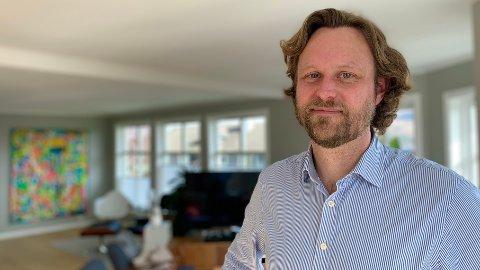 IS I MAGEN: Fredrik Bjelland, porteføljeforvalter i Skagen Kon-Tiki, har smadret referanseindeksen de siste tolv månedene.