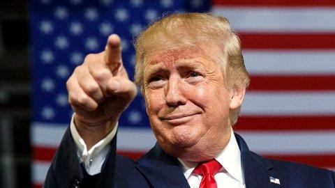 Donald Trump lanserte en egen nettside denne uken. Hensikten skal være å opprettholde kontakten med sine tilhengere.