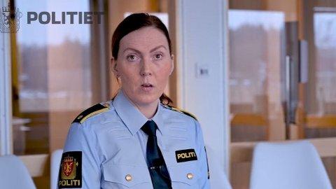 Trude Rønningen er avsnittsleder for vold og seksuallovbrudd i Oslo politidistrikt. I en video kommer hun med en påskeoppfordring til voksne.