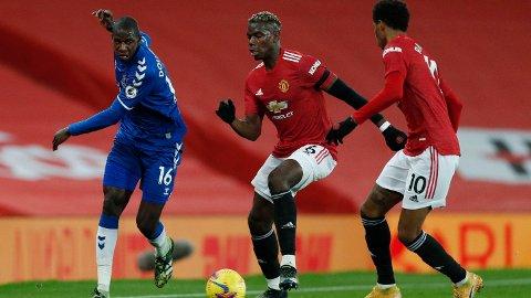 Paul Pogba har ikke spilt kamp i Premier League siden hjemmekampen mot Everton for to måneder siden. Søndag er han tilbake for Manchester United i hjemmekampen mot Brighton.