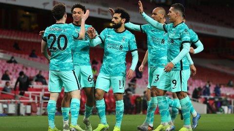 SUVERENE: Liverpool var overlegne i lørdagens storkamp mot Arsenal.