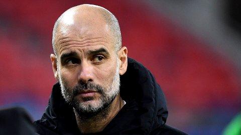 Josep Guardiola og Manchester City skal forsøke å stoppe Erling Braut Haaland i mesterligaen tirsdag.
