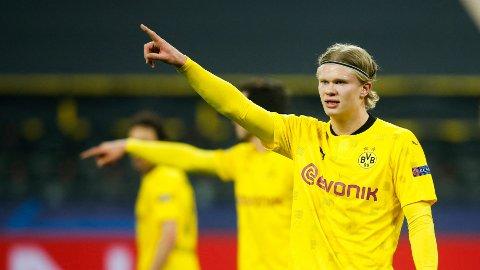 FRA START: Det er ingen overraskelse at Borussia Dortmund gir Haaland muligheten fra start mot City.
