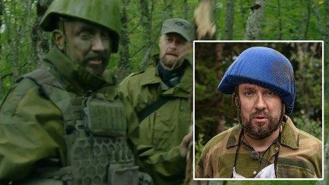 FRUSTRERT: Bernt Hulsker blir svært frustrert på Fenriken og roper til han under lørdagens episode av «Kompani Lauritzen».