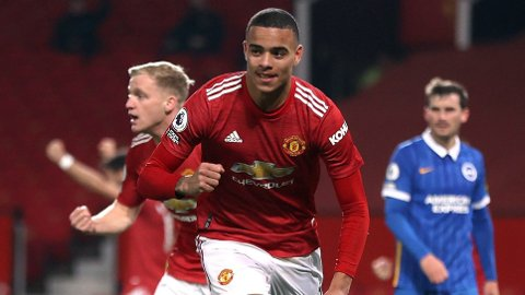 Mason Greenwood har kommet til mange sjanser i de siste kampene til Manchester United. Søndag scoret han mot Brighton. Vi tror han får mer å juble for mot Granada torsdag.