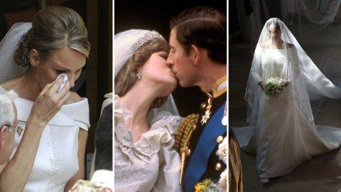 SKANDALER: Selv om kongelige bryllup ser ut til å være en dans på roser, er det ikke alltid ting er like hyggelig i kulissene.