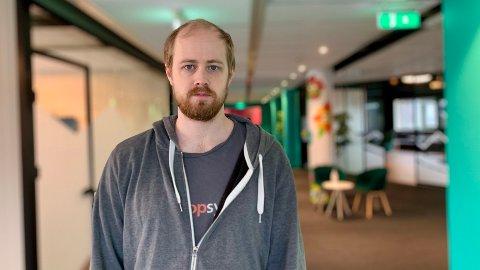 CEO: Teknologiselskapet Boost AI har på få år vokst kraftig, og i dag er Lars Selsås sjef for over hundre ansatte i Norden og USA.