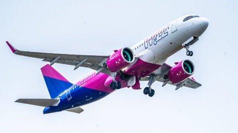 NYTT FLYSELSKAP: I fjor høstet startet Wizz Air opp med flyruter i Norge.