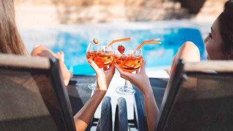 En alkoholfri drink har mange fordeler.