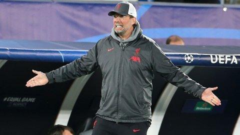 SKADEPLAGET STALL: Jürgen Klopps Liverpool har hatt store skadeproblemer denne sesongen.