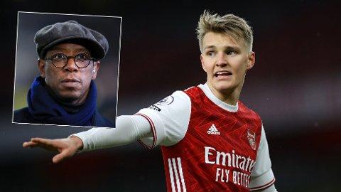 HYLLES: Martin Ødegaard hylles av Arsenal-legenden Ian Wright som mener klubben bør gjør alt de kan for hente nordmannen.