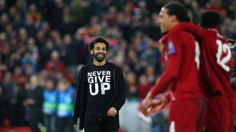 Liverpool mot Barcelona. Et comeback for historiebøkene.