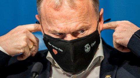 Raymond Johansen advarer før ramadan, og håper at den muslimske høytiden ikke skal øke smitten i Oslo.
