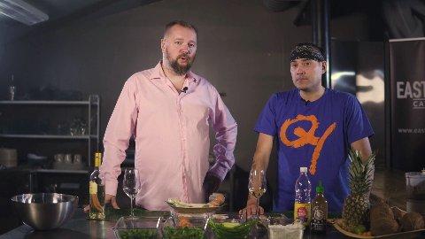 Vinekspert Kjell-Gabriel og kokken Rudi tar deg med på en kulinarisk reise til Vietnam.