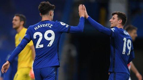 Kai Havertz og Mason Mount har funnet tonen hos Chelsea. Det er dårlig nytt for Porto.