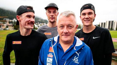 KJEMPEÅR: Henrik, Filip, Gjert og Jakob Ingebrigtsens selskap hadde et kjempeår i fjor.