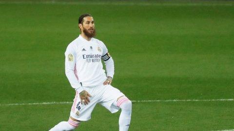 Sergio Ramos er uaktuell til Real Madrids kamp mot Liverpool.
