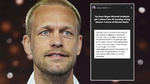 GJØR DET IGJEN: Mads Hansen har nok en gang satt i gang en innsamlingsaksjon for å få folk til å slutte og følge realitydeltakere.