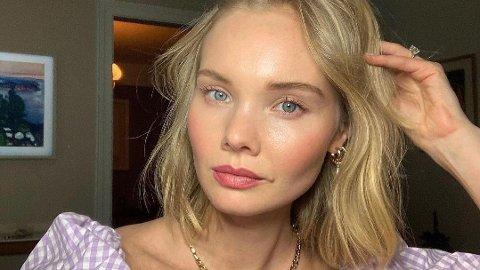 BESTEMT: Ada Martini Strøm vil ikke jobbe som modell for merker som ikke er bærekraftige.