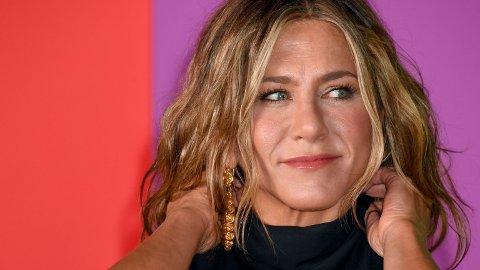 FALSKE RYKTER: Den siste tiden har det svirret rykter om at Jennifer Aniston har planer om å adoptere.