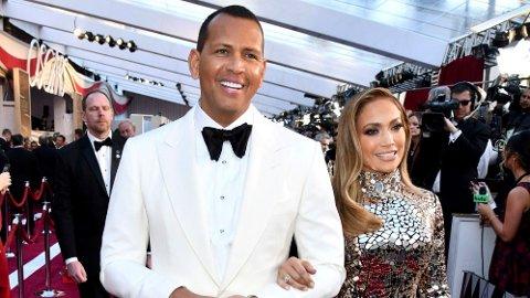 BRUDD: Alex Rodriguez og Jennifer Lopez er ikke lenger et par.